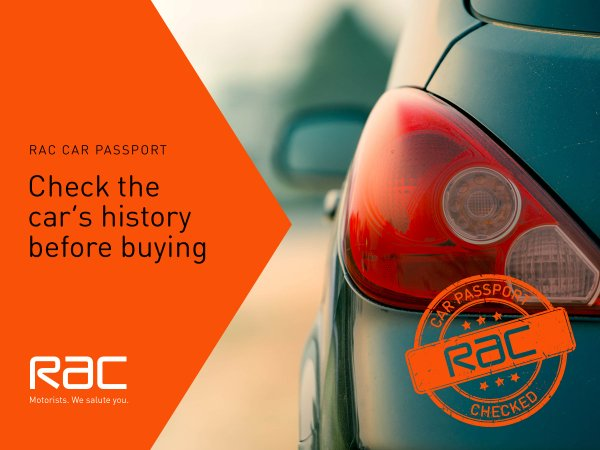 RAC Vehicle History Check
