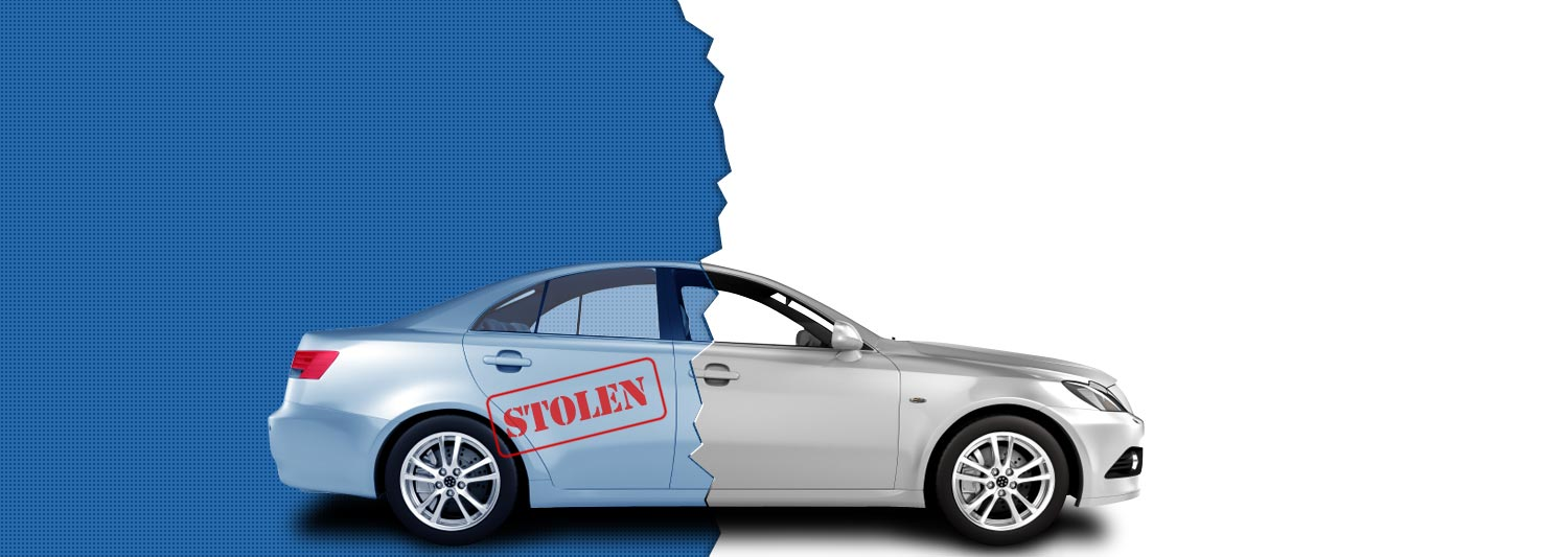 stolen car car data check banner