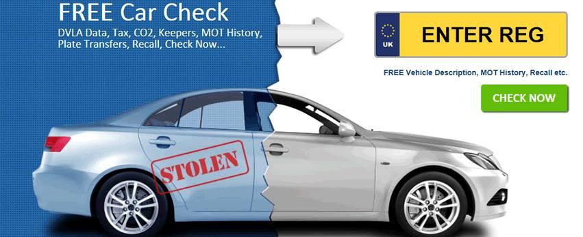 FREE Car Check - HPI Check - Instant DVLA MOT and Mileage